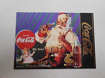 1995 Coca-Cola Series 4 chase card S-32! Santa Claus ad from 1936! NM/MN!