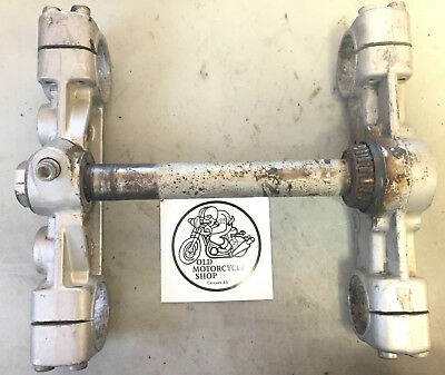 1986 Can Am Triple Tree Clamps Oem
