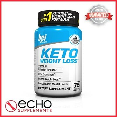 BPI Keto Weight Loss (75 Caps) - FREE FAST DELIVERY!