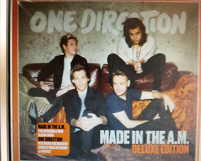 Made In The A.M. Deluxe Edition - One Direction CD Sealed ! New ! 2015 !