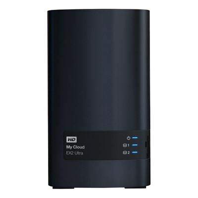 Western Digital - Content Solutions Wdbvbz0000Nch-Nesn My Cloud Ex2 Ultra 0Tb