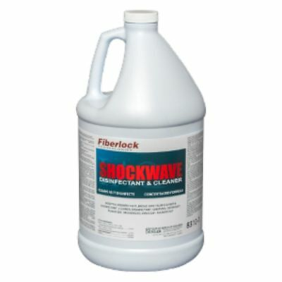 (2) GALLONS of Fiberlock Shockwave 8310 Concentrated Mold Disinfectant Container