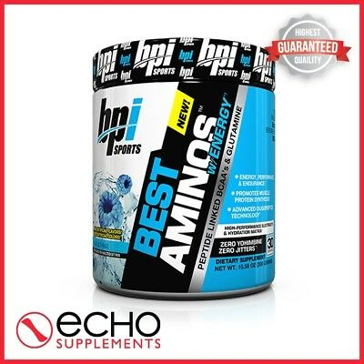 BPI Best Aminos w/Energy (300g / 30 Servings) - FAST FREE DELIVERY!