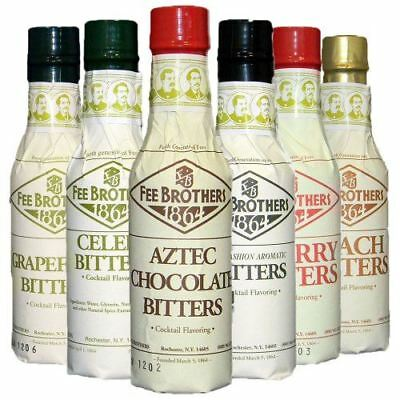 Fee Brothers III Cocktail Bitters 6 Pack