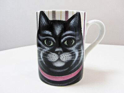 Department 56 CAT ON MAT Ceramic Coffee Mug by Martin Leman