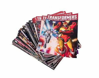 LOT: TRANSFORMERS MTMTE #1-55 (missing #3) IDW BUNDLE MORE THAN MEETS THE EYE