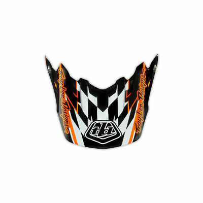 Troy Lee Designs Tld Se3 Helmet Visor Team Orange Mx Motocross Dirt Bike Moto