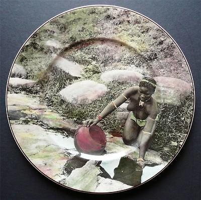 "Royal Doulton - Plate "" African Series "" Zululand D6363"