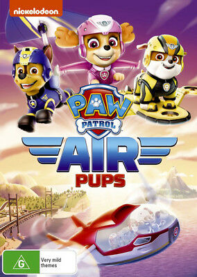 Paw Patrol: Air Pups  - DVD - NEW Region 4