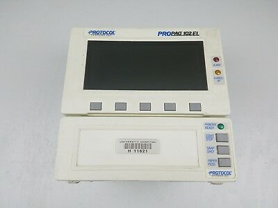 Protocol Systems Inc. Nellcor ProPAQ 102EL Vital Signs Patient Medical Monitor