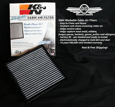 K&N Replacement Cabin Air Filter Ford Edge Lincoln MKZ MKX Fusion