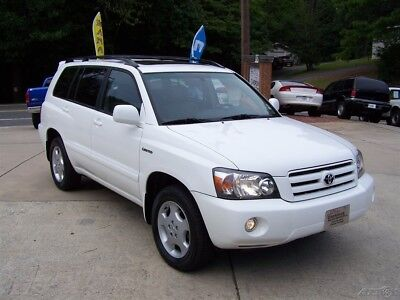 2004 Toyota Highlander LIMITED 4X4 LEATHER MOONROOF V6 3RD REAR SEAT A LOADED 4WD AWD CD AC HEATED SEATS JBL COMPARE 2 4RUNNER LAND CRUISER FJ WAGONS