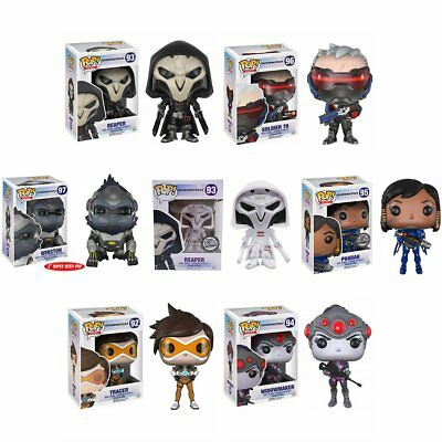 Pop Funko Vinyl Games Figures Overwatch Toys Widowmaker Reaper Tracer Winston