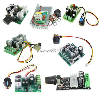 3/10/15/20A PWM 6-28V/10-60V/6-60V/12-40V/6-90V/12V Motor Speed Control Switch O