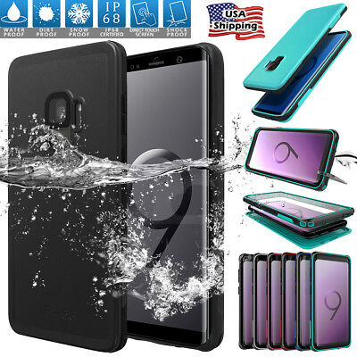 F Samsung Galaxy Note 9 8 S9 S8 Waterproof Dirt Shockproof Armor Case Full Cover