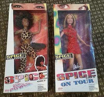 Collector Spice Girls Dolls - On Tour / Girl Power / MEL B & GERI IN BOXES