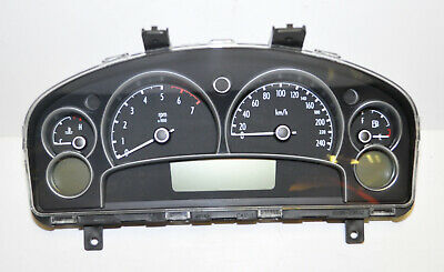 Genuine Holden WK Caprice Dash Cluster V8 5.7L - Black
