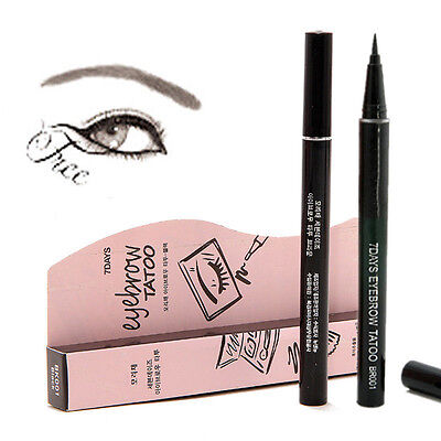 New Brown Waterproof 7Days Eye Brow Eyebrow Tattoo Pen Liner Long Lasting Makeup