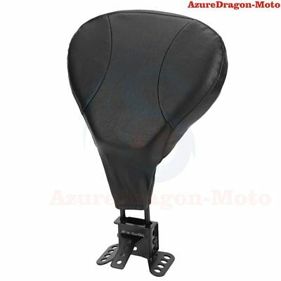Adjustable Stitched Driver Rider Backrest Pad For Harley Touring 2009-2015 Hot