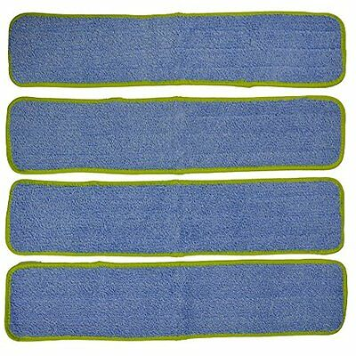 Eurow Commercial Microfiber Wet Mop Pad Refill 24 In Green NO TAX Fast Ship