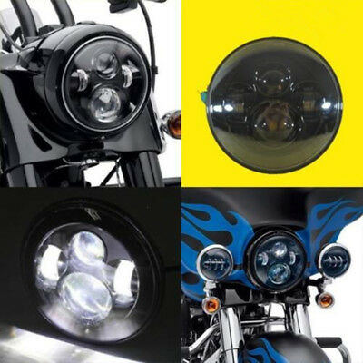 Motorcycle 7inch LED Projector Motor Headlight H4 Hi/Lo Beam Harley Led Light
