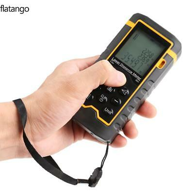 60M 197ft Mini LCD Digital Laser Distance Meter Range Finder Measure Diastimeter
