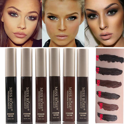 Waterproof Eyebrow Tint Tattoo Enhancers Pen Liner 7 Days Long Lasting Makeup