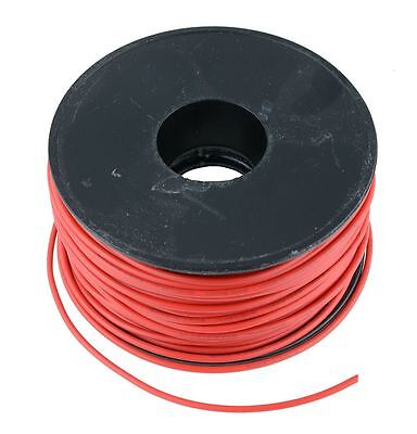 rot 0.5mm PVC Gestrandet Auto Kabel 28/0.15mm 50m Rolle