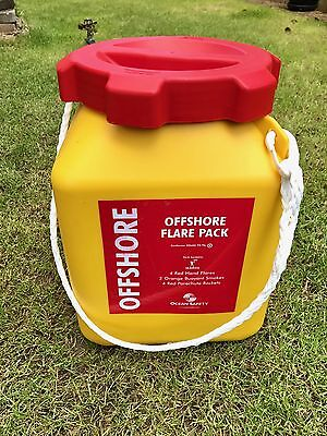Offshore Flare Pack Ocean Safety Tub
