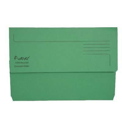 Guildhall Forever Bright Green Document Wallet Pack of 25 211/5004 [GH22886]