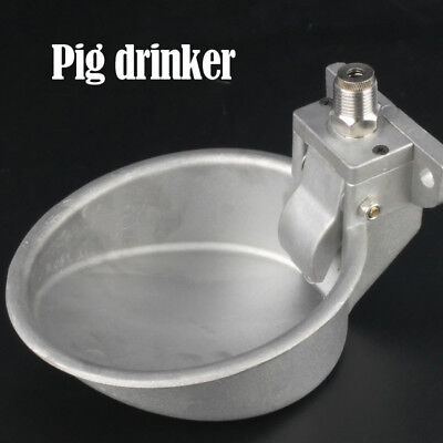 Free Shipping Piglets Pig Water Bowl Drinking Fountain Faucets Pig Drinking Bowl