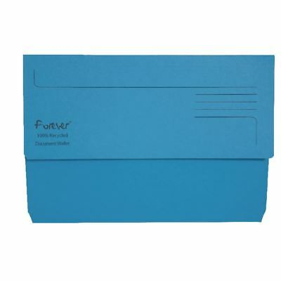 Guildhall Forever Bright Blue Document Wallet Pack of 25 211/5001 [GH22881]