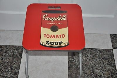 Table Folding Tomato Soup Campbell´s  Memorabilia Children - Vintage