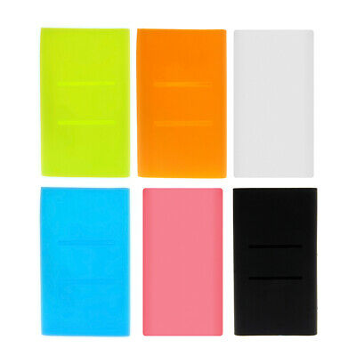 Silicone Sleeve Protector Skin Cover For Xiaomi Power Bank 2 10000mAh 13×7.5cm