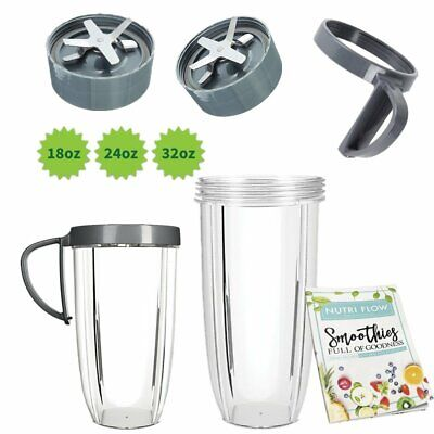 Replacement blade/24oz/32oz Tall cup/gasket for Nutribullet Blender 600W 900W MX