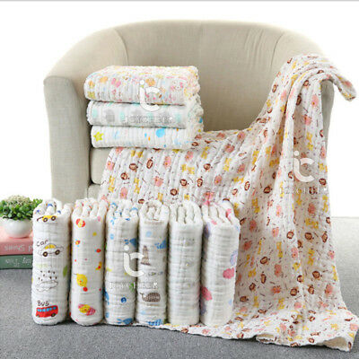 85*85cm Baby Blanket Gauze Cotton Soft Infant Kid Bedding Cover Child Bath Towel