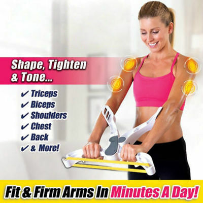 Wonder Arms Total Arm Exercise System Resistance Bands Home Gym As Seen On TV
