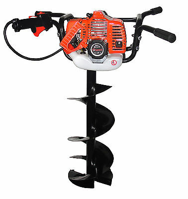 Petrol Auger 5,2 HP BC-520 Earth Drilling Soil Auger Ice Drill + 25cm Drill