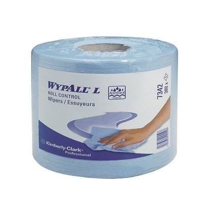 Wypall L10 Blue Centrefeed Roll Control Wipers (Pack of 6) 7492 [KC01516]