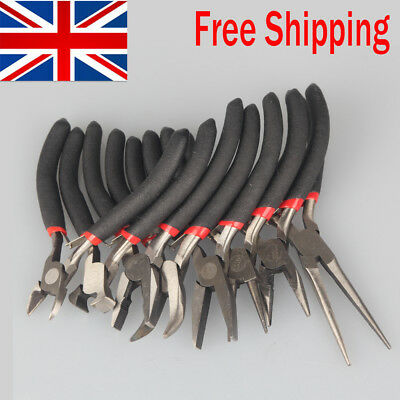 8pcs/set Nose Pliers Tool Hand Tools for Jewelry Making Tools bent, Flat, Needle