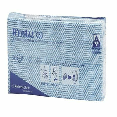 Wypall X50 Cleaning Cloths (Pack of 50) Blue 7441 [KC02088]