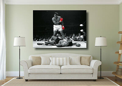 Muhammad Ali Boxing Giant 1 Piece Wall Art Poster Print - Various Size Options
