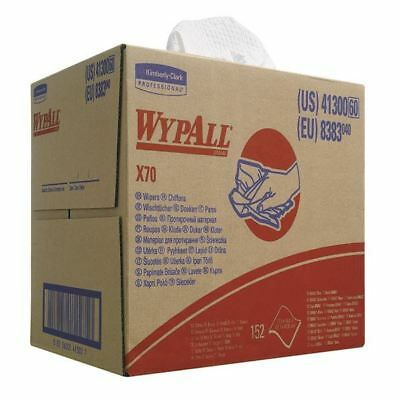 Wypall X70 Wipers Box 1-Ply White (Pack of 150) 8383 [KC00448]