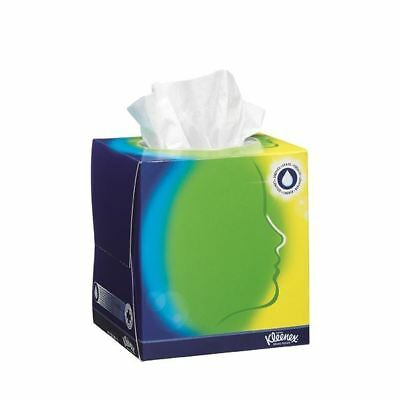 Kleenex White Cube Facial Tissues 56 Sheets (Pack of 12) 8825 [KC03377]