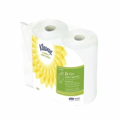 Kleenex Hand Towels White (Pack of 6) 6767,  dimensions:100m x 195mm[KC03579]