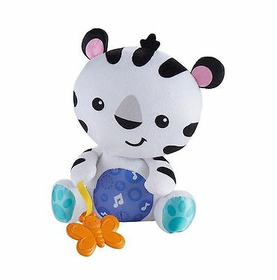 Fisher-Price Sing-Along Dancin' Tiger Fun Sung Songs n Sounds Soft Toy 3M+