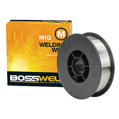Bossweld STAINLESS STEEL 316LSI MIG WELDING WIRE 5.0kg*AUS Brand- 0.8mm Or 0.9mm