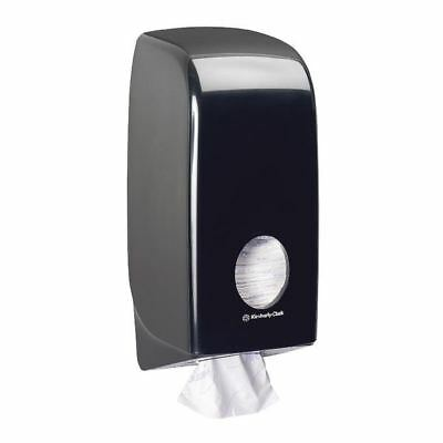 Aquarius Bulk Pack Toilet Tissue Dispenser Black 7172 [KC03794]