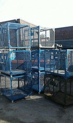 STEEL STILLAGES 3ftx2ftx2ft6inhigh (SEE ITEM & PAYMENT DETAILS)