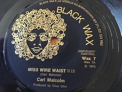"Carl Malcolm - Miss Wire Waist - 1975 Nm Unplayed Ex Shop Stock 7"" More Reggae!!"